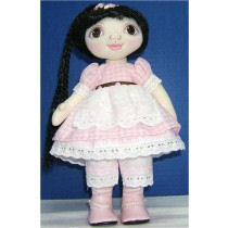 WIDE EYED WENDY - Free Cloth Doll Pattern